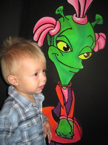 Is Alien Vacation Mini Golf good for Toddlers?