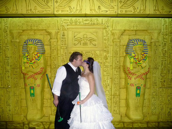 picture of Wedding at Alien Vacation Mini Golf